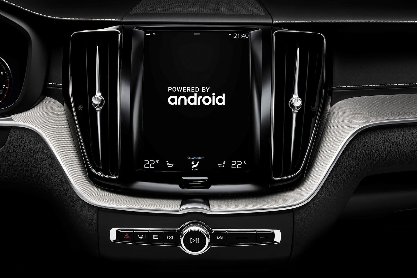 Συνεργασία της Volvo με τη Google entertainment, Google, Volvo