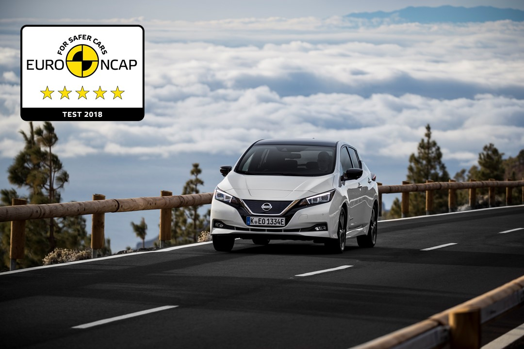 426226265 New Nissan LEAF achieves 5 star safety rating in Euro NCAP crash tests Πεντάστερο το Nissan LEAF Electric cars, Nissan, Nissan LEAF, zblog