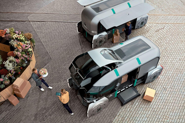1 Ρομποτικό... ντελιβερά παρουσιάζει η Renault
