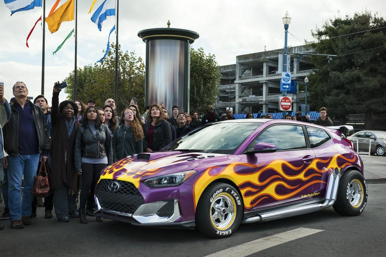 20192BHyundaiVelosterMarvelStudiosAnt ManandtheWasp Η Hyundai ξεκίνησε την καριέρα της στο Hollywood! Hyundai