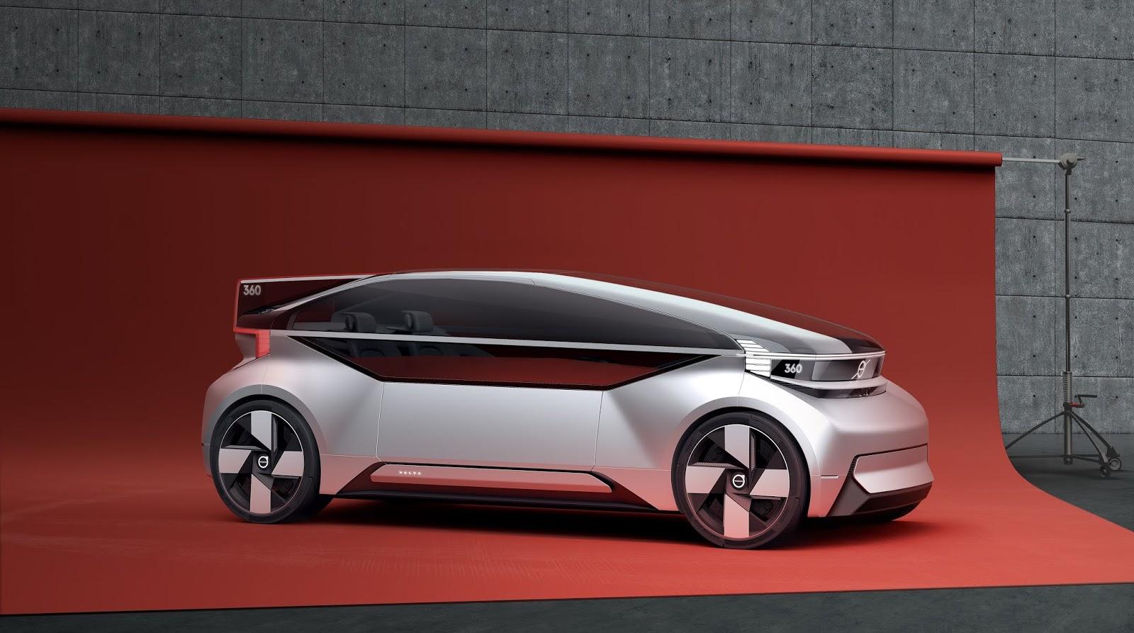 Το όραμα της Volvo χωρίς... τιμόνι Electric cars, Volvo, αυτόνομα, Αυτόνομη οδήγηση, Τεχνολογία