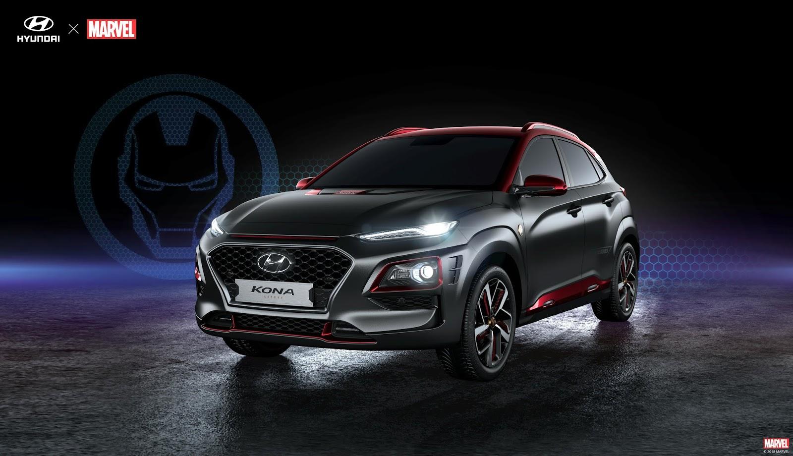 Hyundai2BKona Τώρα, μπορείς να πάρεις το Hyundai Kona του... Iron Man Hyundai, Hyundai Kona