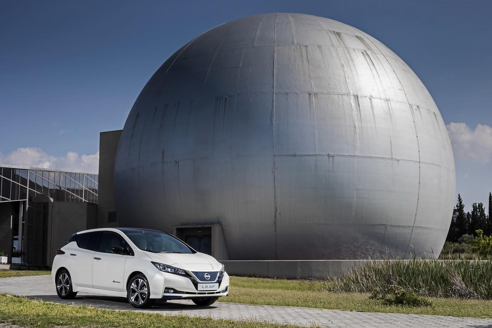 LEAF NL 012B252812529 Στη ΔΕΘ το Nissan LEAF ως... ταξί του μέλλοντος Nissan, Nissan LEAF