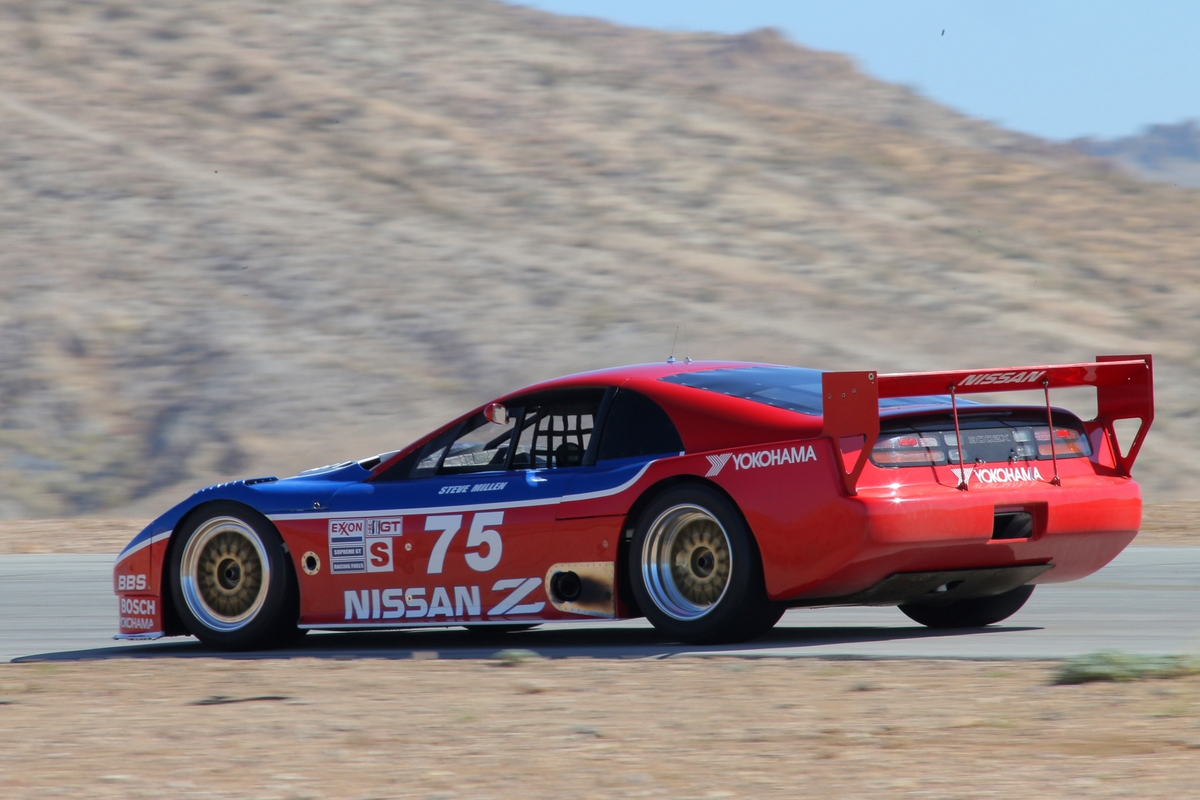 Steve Millen and his No 75 Nissan 300ZX H Nissan γιόρτασε μισό αιώνα επιτυχιών στο Monterey