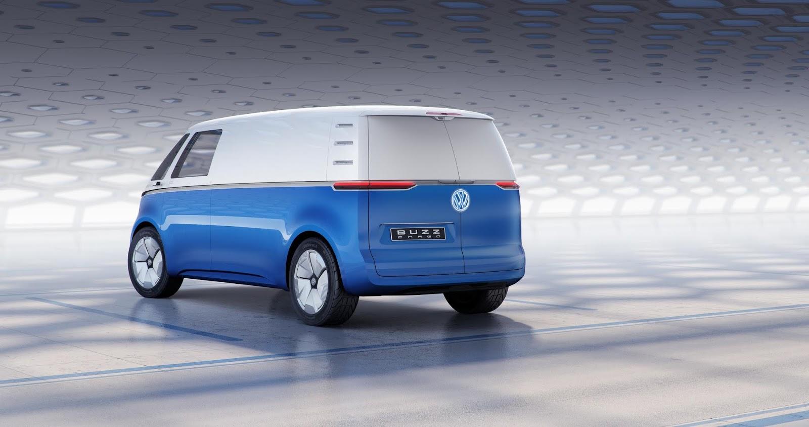 VOLKSWAGEN2BI.D.2BBUZZ2BCARGO2B2 Αυτό είναι το νέο, ηλεκτρικό βαν της Volkswagen Electric cars, Volkswagen, VW Transporter, Επαγγελματικά