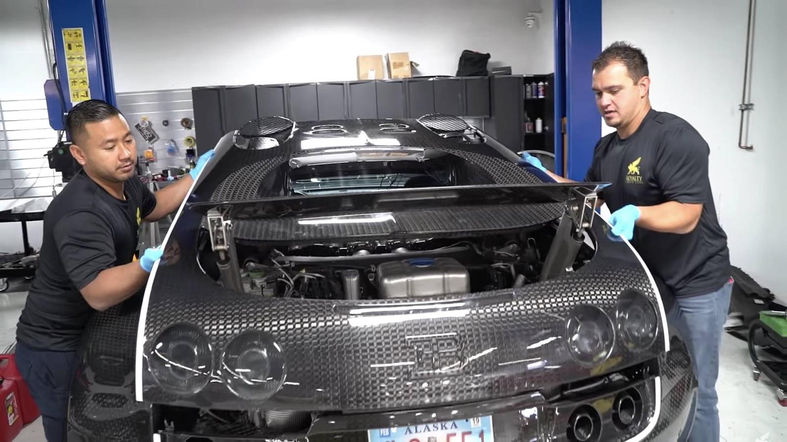 veyron2 Πόσο κοστίζει η αλλαγή λαδιών σε μια Bugatti; Bugatti, Bugatti Veyron, service, λάδια