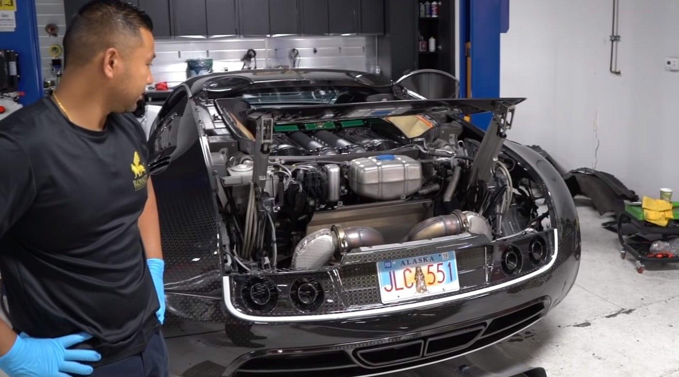 veyron3 Πόσο κοστίζει η αλλαγή λαδιών σε μια Bugatti; Bugatti, Bugatti Veyron, service, λάδια