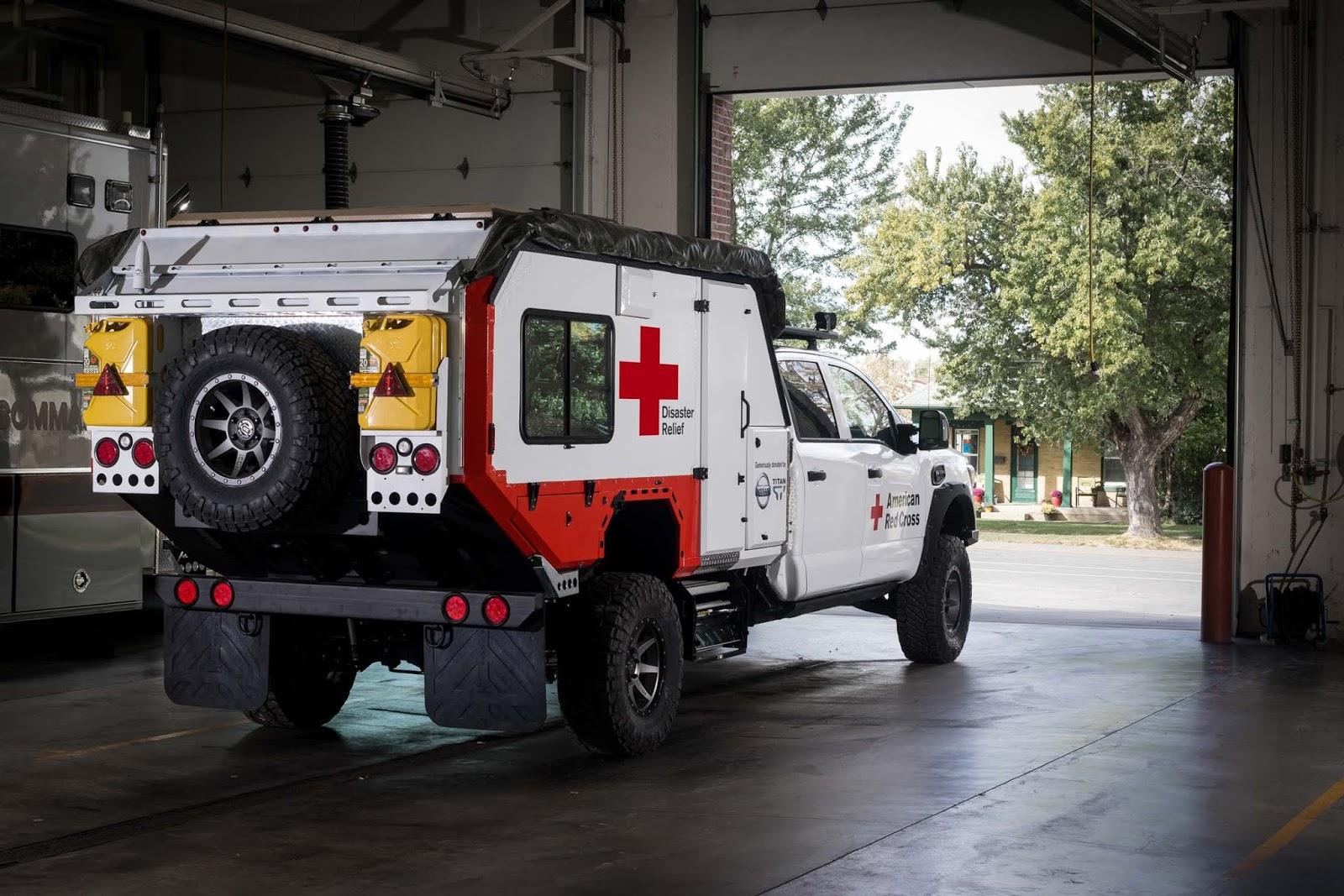 Nissan TITAN Red cross 2B252832529