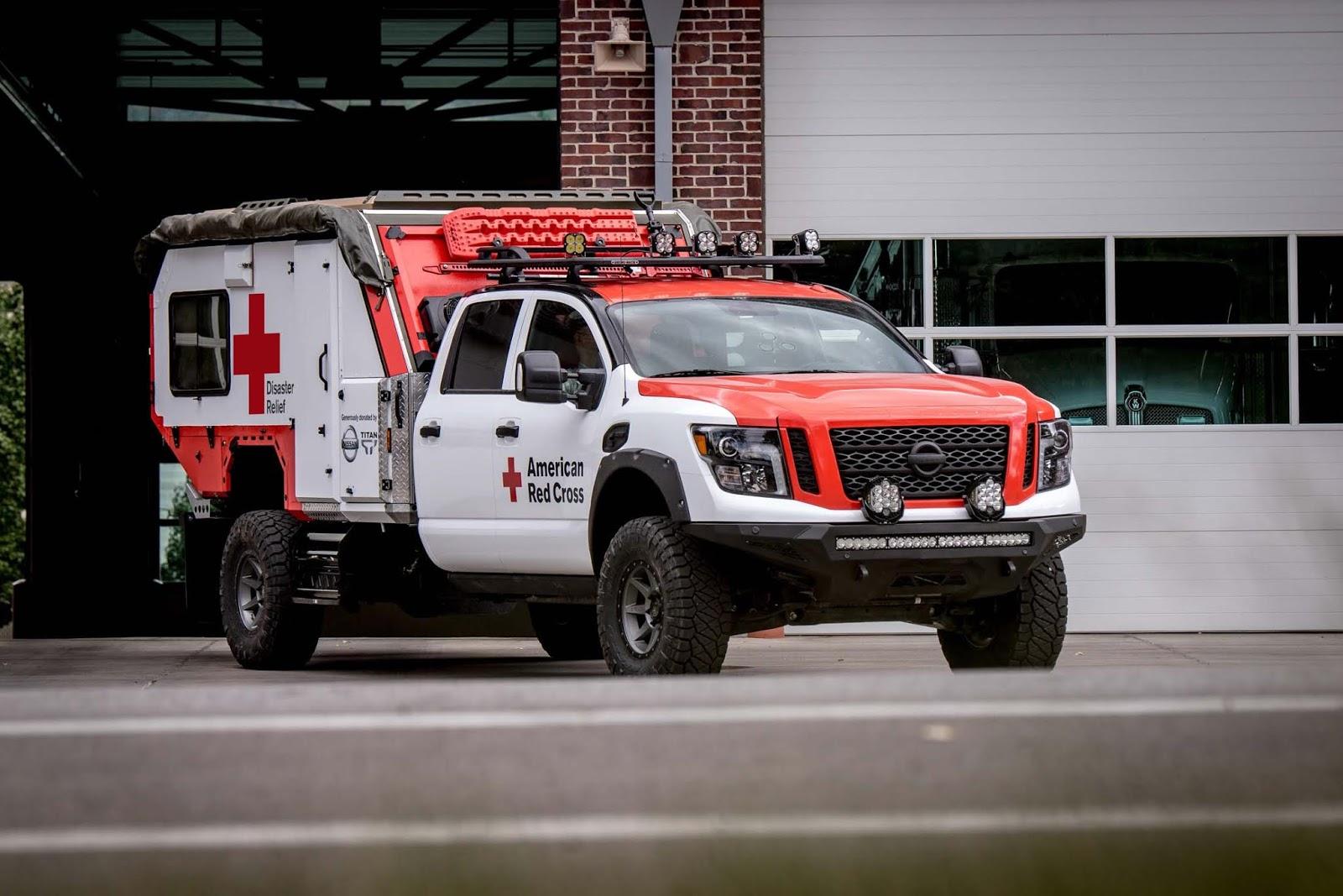 Nissan TITAN Red cross 2B252852529