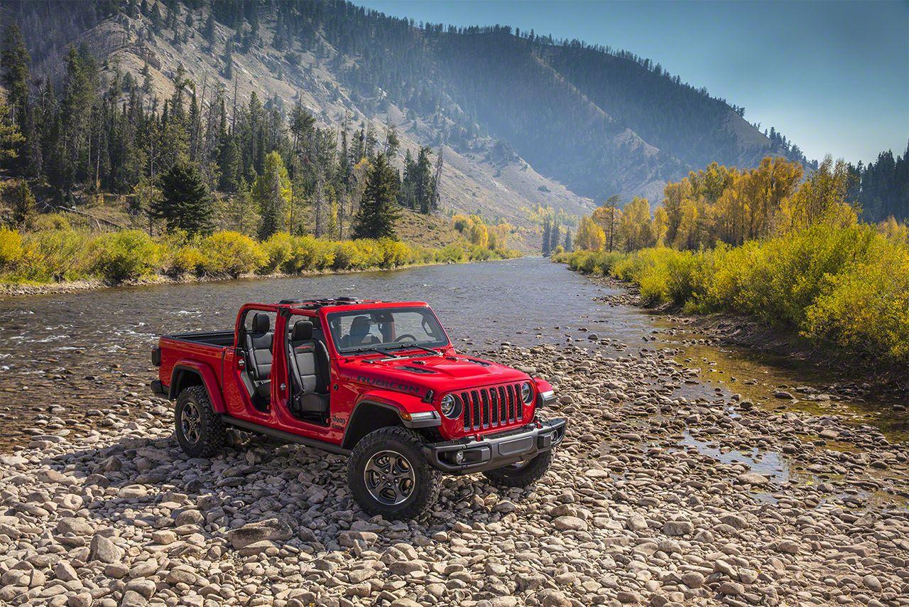 181128 Jeep Gladiator 03 Το Jeep Gladiator βουτάει σε 76 εκ. νερό! Jeep, Jeep Wrangler, Pick-up, pickup