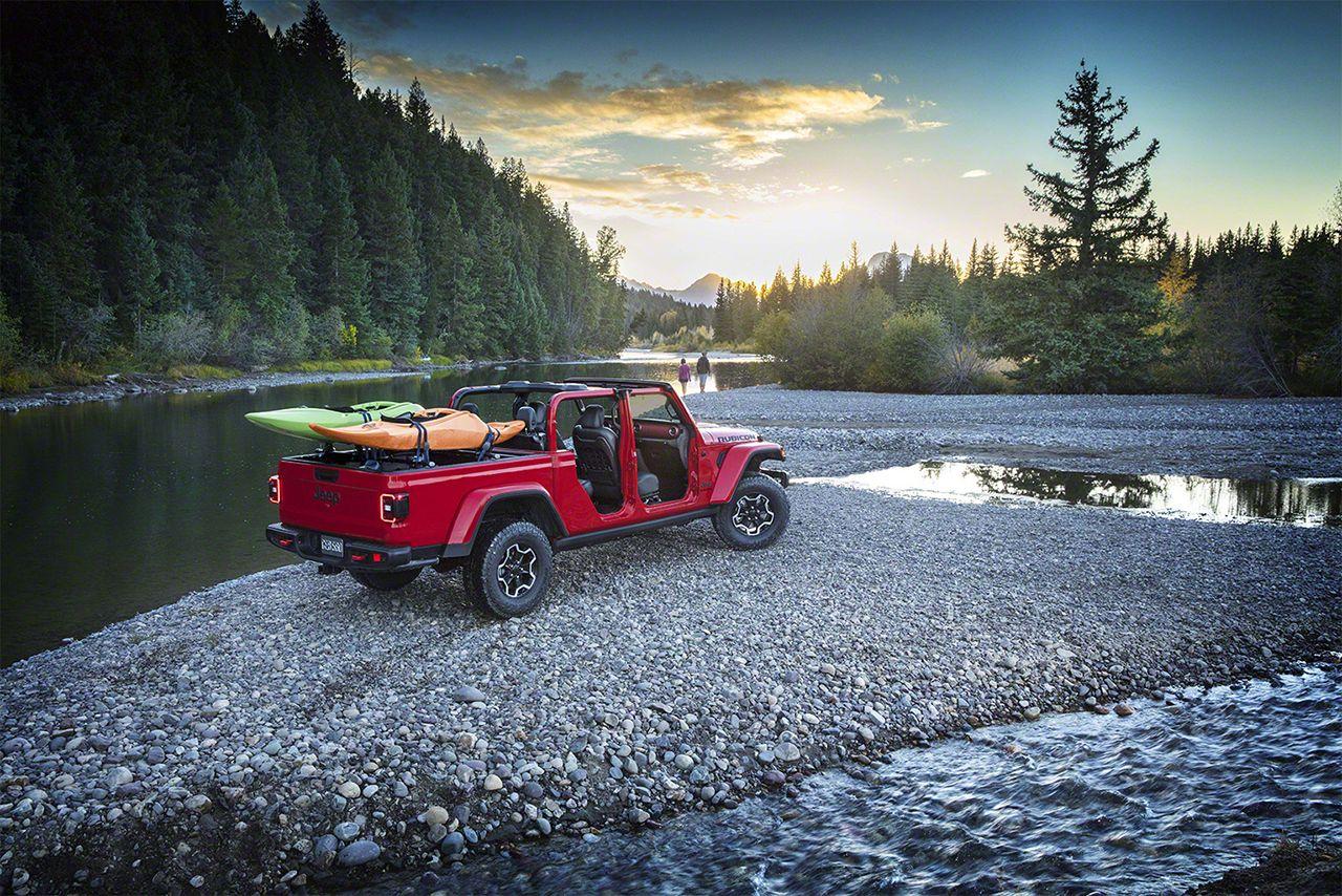 181128 Jeep Gladiator 08 Το Jeep Gladiator βουτάει σε 76 εκ. νερό! Jeep, Jeep Wrangler, Pick-up, pickup