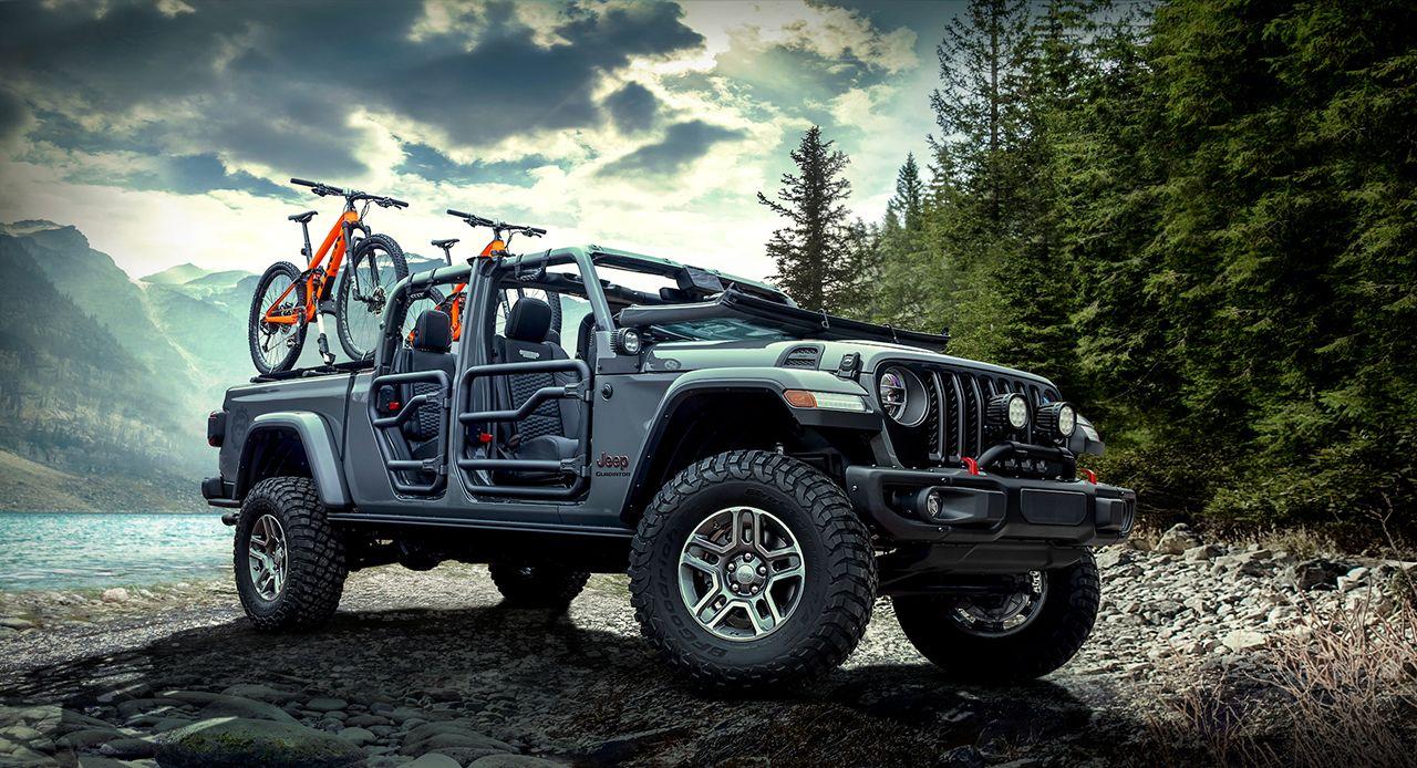 181130 Jeep Gladiator 01 Το Jeep Gladiator βουτάει σε 76 εκ. νερό! Jeep, Jeep Wrangler, Pick-up, pickup