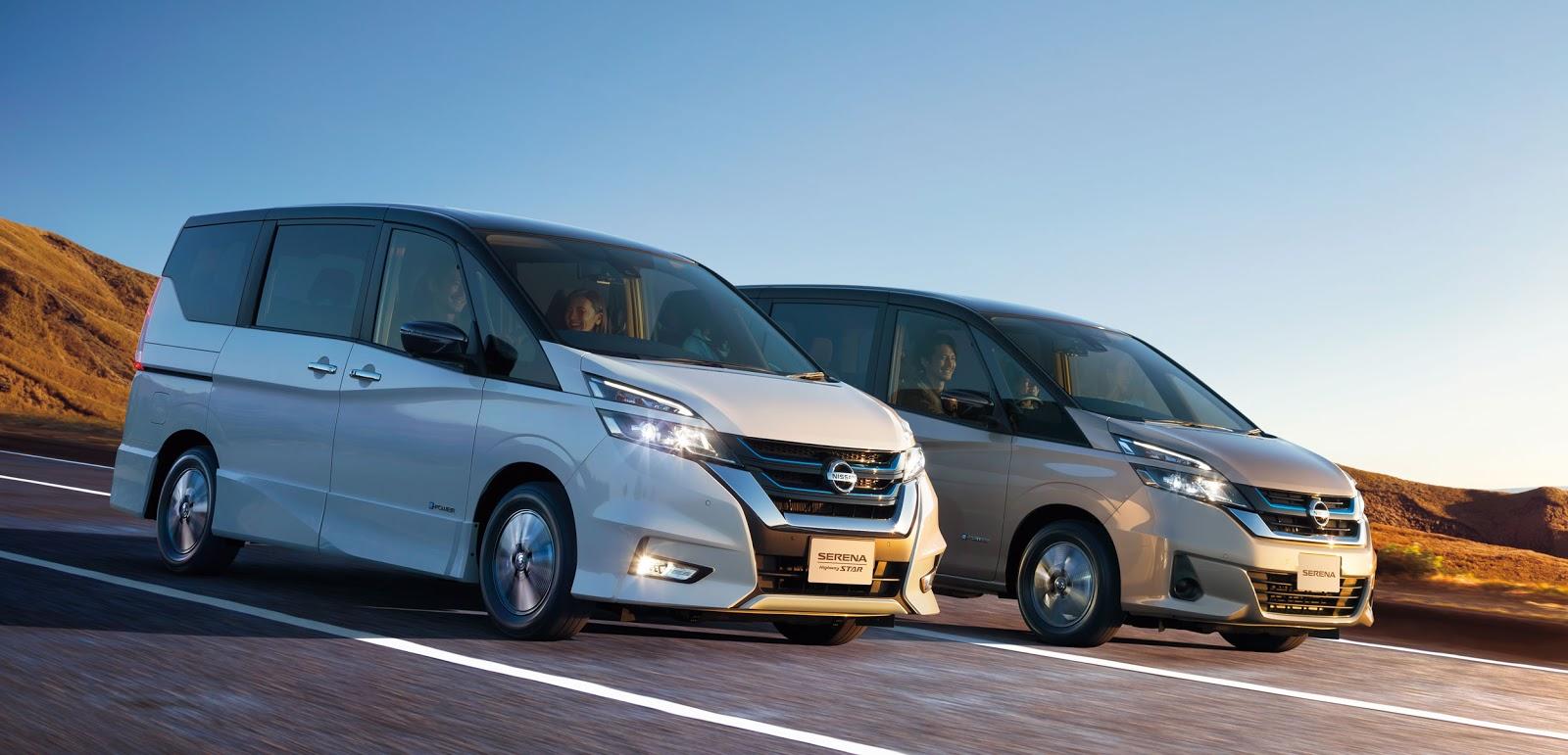 Nissan Serena e POWER 2 Βραβείο τεχνολογίας για το e-POWER της Nissan Electric cars, Nissan, βραβείο, Τεχνολογία