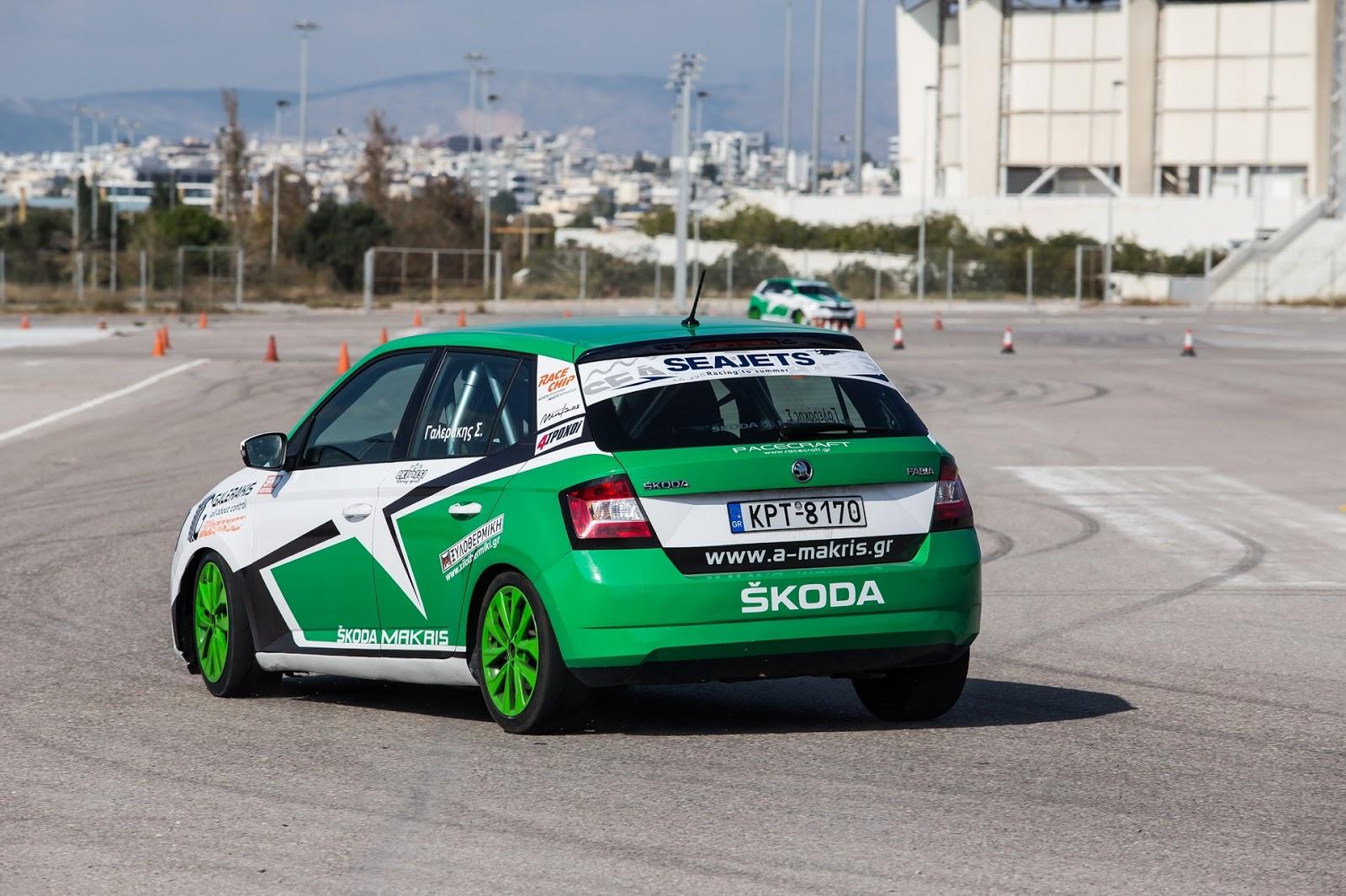 SKODA2BFABIA AYTOKINH25CE25A3H2B2018 TEST DRIVE 5 Η Skoda σε κάνει βόλτα με την αγωνιστική Fabia! Skoda, Έκθεση