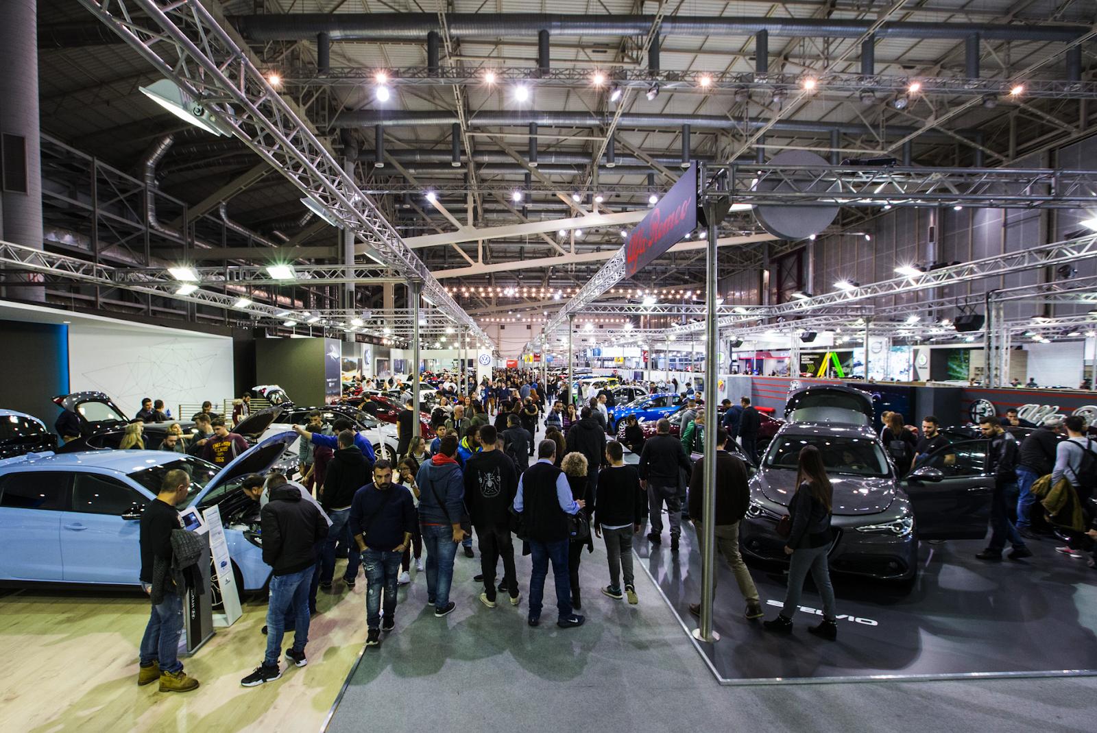 autok2 1 Ρεκόρ επισκεπτών στην έκθεση αυτοκινήτου ΑΥΤΟΚΙΝΗΣΗ ΕΚΟ 2018 Έκθεση