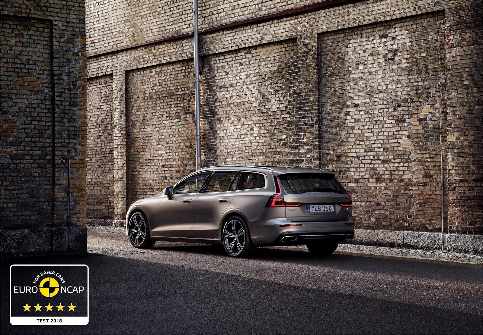 246535 Volvo S60 and V60 secure 5 star safety rating by Euro NCAP1 Συνεχίζουν το σερί 5 αστέρων τα Volvo S60 και V60 crash tests, Euro NCAP, Volvo, Volvo S60, Volvo V60