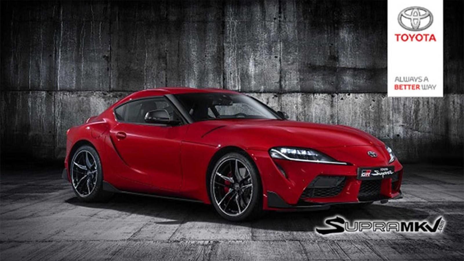 SUPRA2BFINAL1 Ιδού η νέα Toyota Supra! Toyota, Toyota Supra, zblog, μοντέλα, ΦΩΤΟ, φωτογραφίες