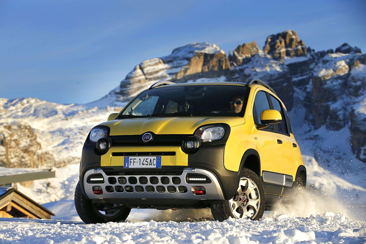 180313 Fiat Nuova Panda Cross 02 Το Fiat Panda 4X4 ανέβηκε στο Έβερεστ! 4x4, Fiat, Fiat Panda, Fiat Panda Cross, Offroad, καινούργιο, καινούρια, τιμες