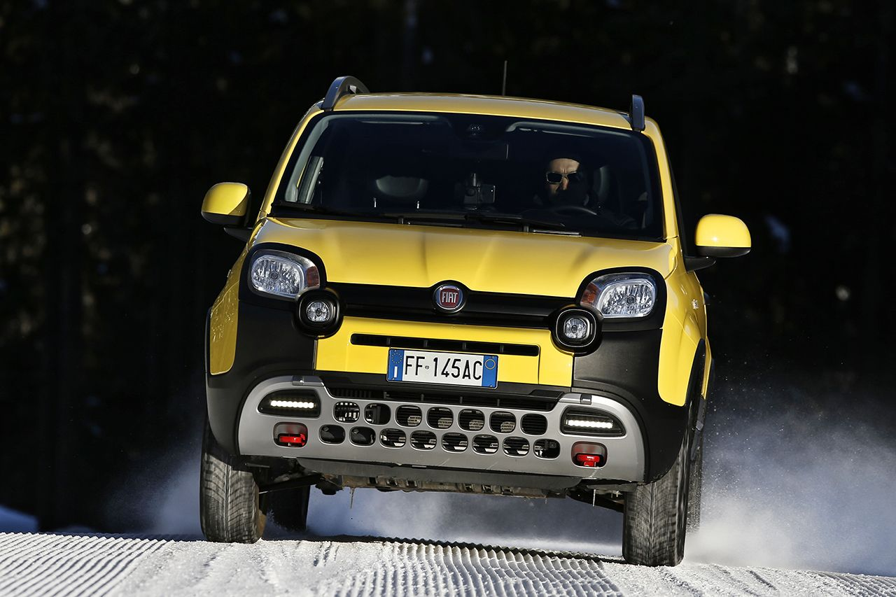 180313 Fiat Nuova Panda Cross 05 Το Fiat Panda 4X4 ανέβηκε στο Έβερεστ! 4x4, Fiat, Fiat Panda, Fiat Panda Cross, Offroad, καινούργιο, καινούρια, τιμες