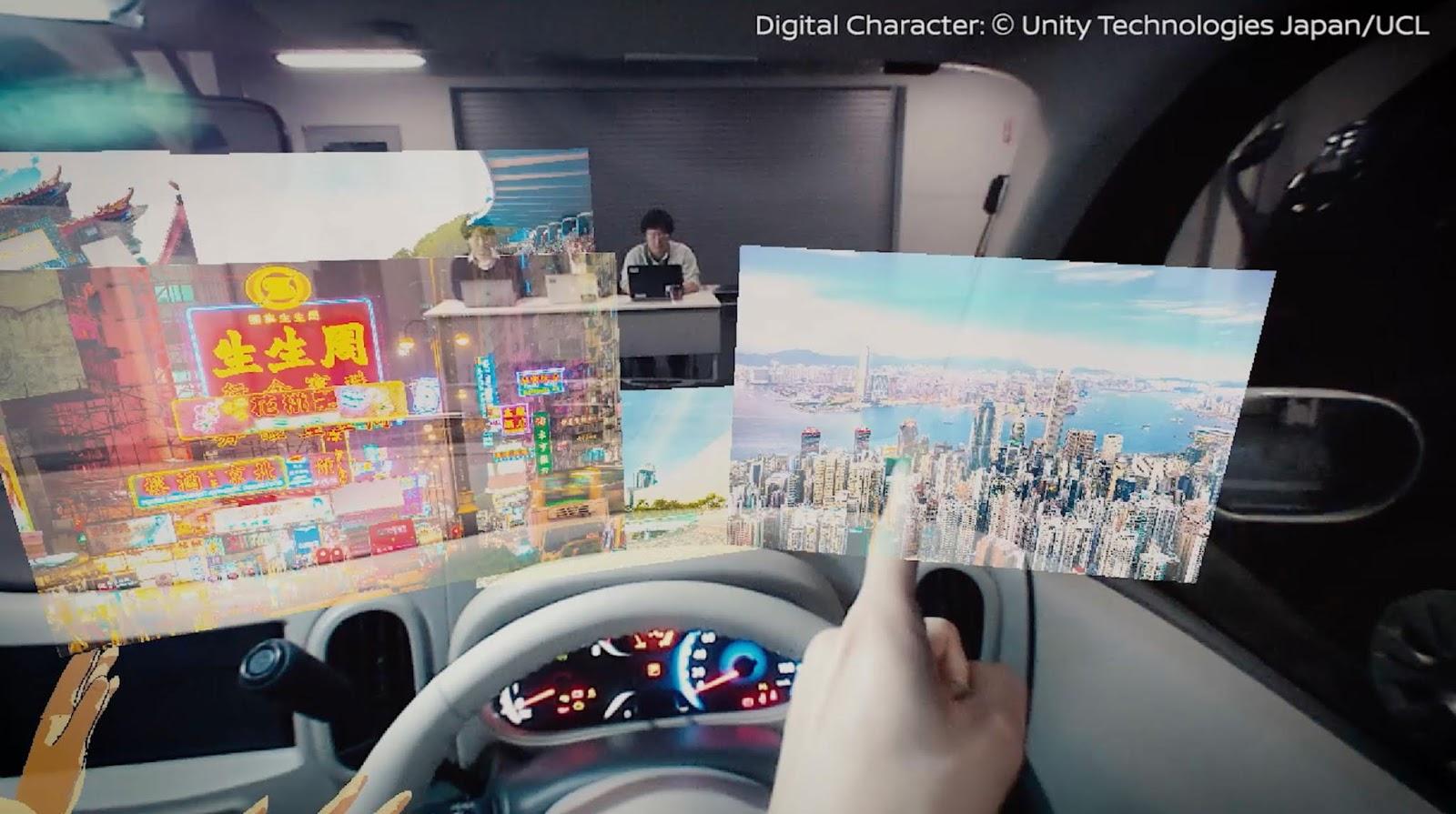 NISSAN I2V 1 Η Nissan σχεδιάζει augmented reality για τα μοντέλα της Nissan, zblog, τεχνικά, Τεχνολογία
