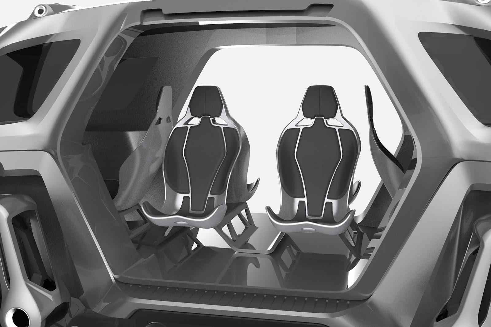hyundai elevate concept252832529 H Hyundai έβγαλε όχημα με ρομποτικά πόδια! Electric cars, Hyundai, zblog, Τεχνολογία