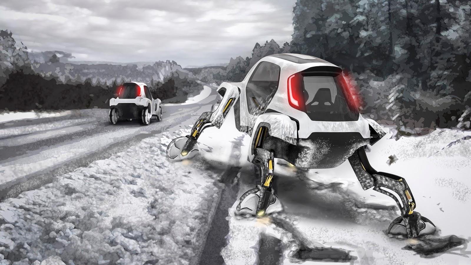 hyundai elevate concept252862529 H Hyundai έβγαλε όχημα με ρομποτικά πόδια! Electric cars, Hyundai, zblog, Τεχνολογία