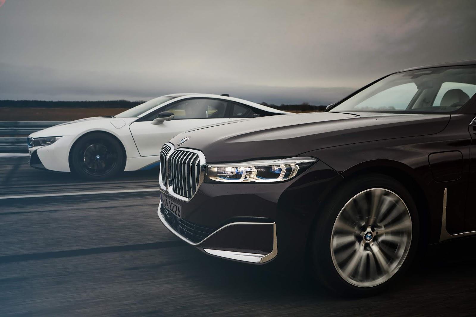P90335203 highRes the new bmw 745le an Τα αστέρια της BMW για τη 89η Διεθνή Έκθεση Αυτοκινήτου της Γενεύης BMW, BMW 7-series, Electric cars, Hybrid, Έκθεση, Έκθεση Γενεύης