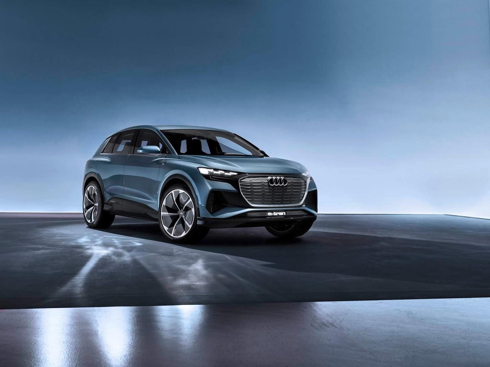 A192564 medium Αυτό είναι το Audi Q4 e-tron Audi, audi q4, E-tron, Έκθεση Γενεύης, Σαλόνι Αυτοκινήτου, Σαλόνι Αυτοκινήτου της Γενεύης