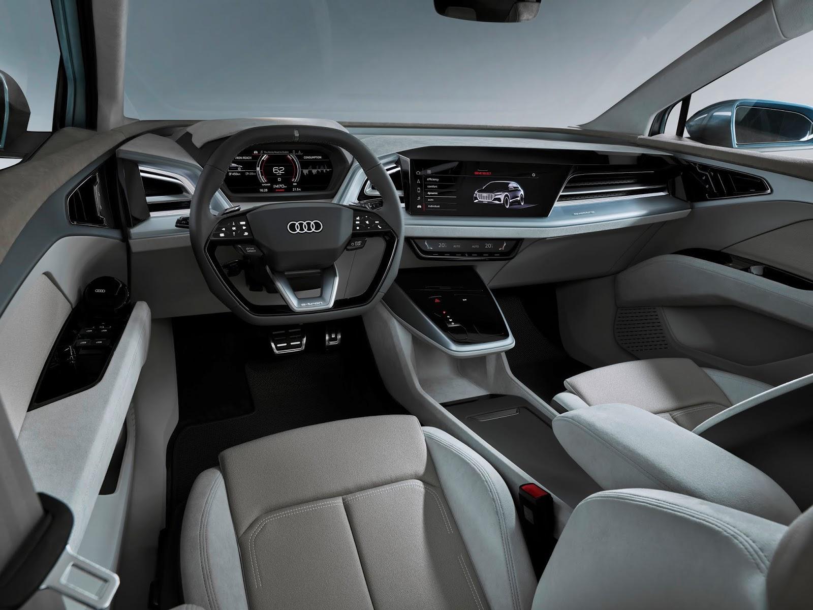 A192571 medium Αυτό είναι το Audi Q4 e-tron Audi, audi q4, E-tron, Έκθεση Γενεύης, Σαλόνι Αυτοκινήτου, Σαλόνι Αυτοκινήτου της Γενεύης