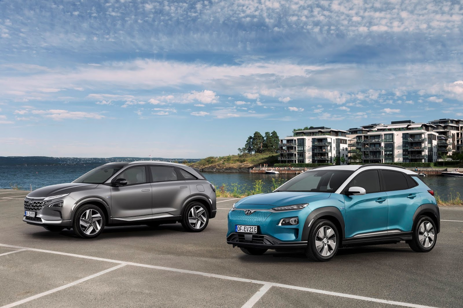 Kona2BElectric2B25262BNEXO Άλμα της Hyundai στα γερμανικά βραβεία Best Car 2019 Hyundai, Hyundai Ελλάς, βραβείο