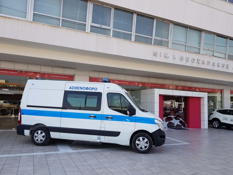 NV4002BAMB2B252832529 Ασθενοφόρο Nissan NV400 από τη Nissan Νικ. Ι. Θεοχαράκης Α.Ε.