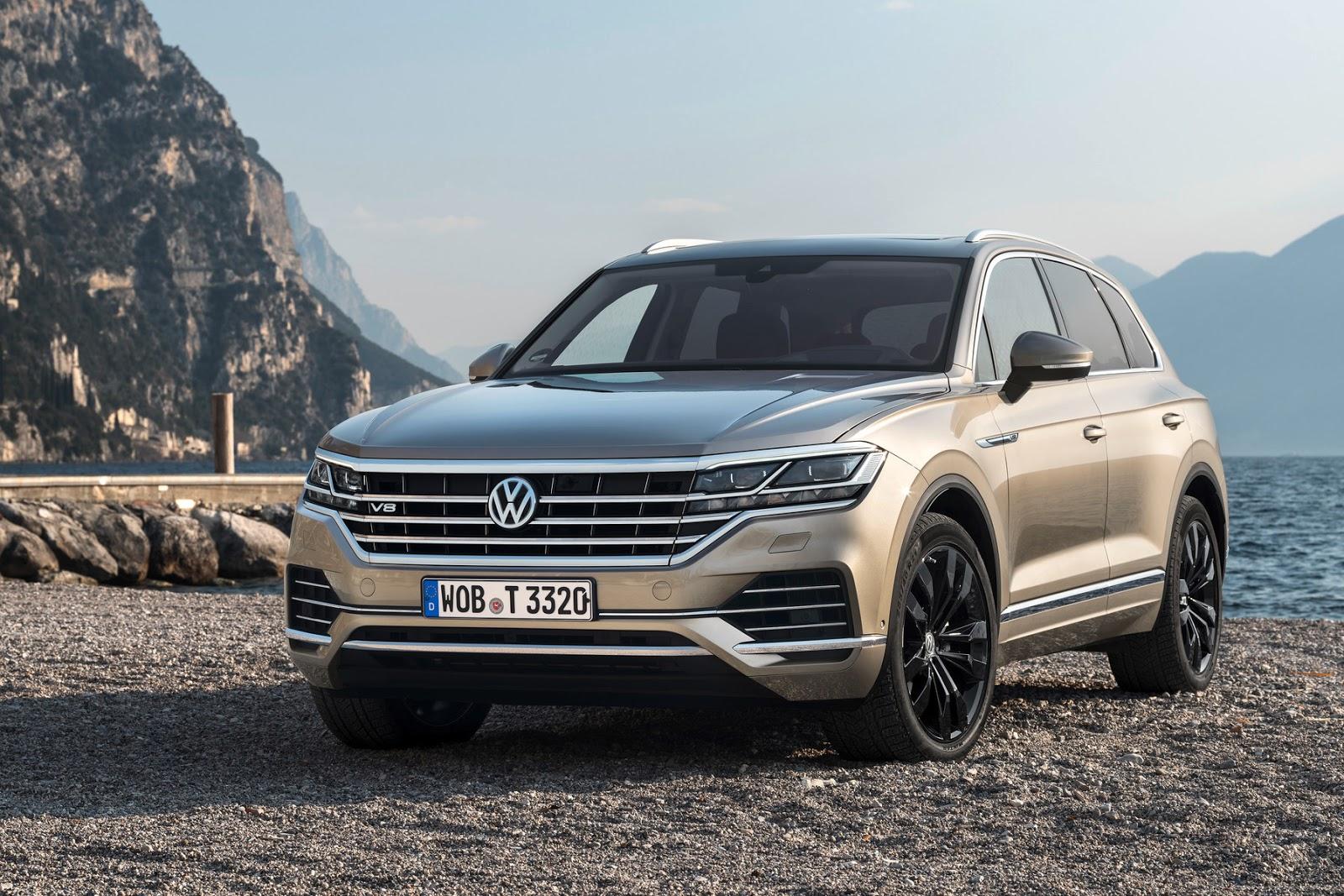 Touareg2BV8 Με 4 πρεμιέρες στη Γενεύη η Volkswagen Volkswagen, VW, Έκθεση Γενεύης, Σαλόνι Αυτοκινήτου της Γενεύης