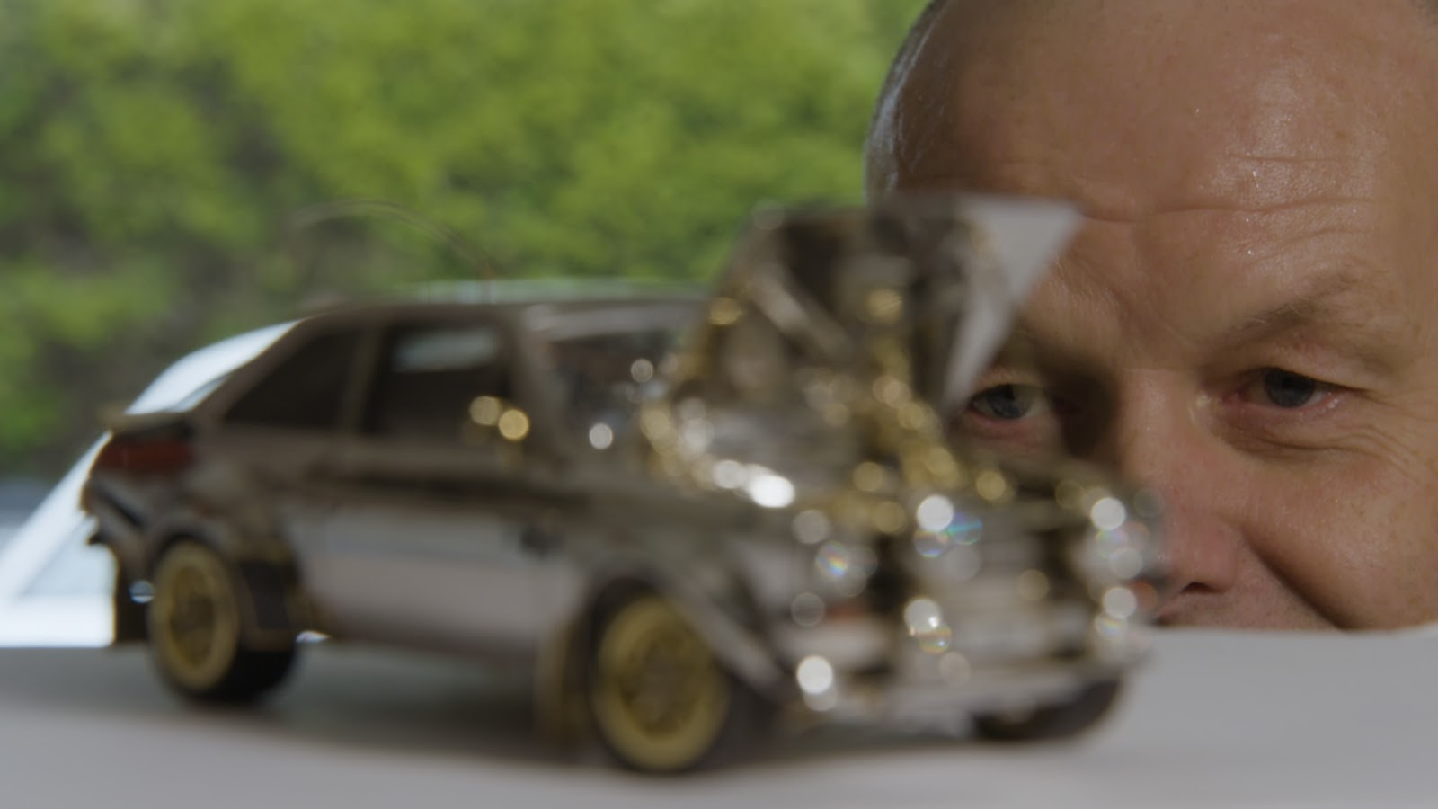 JewelledEscort 04252812529 Ένα Ford Escort Mk2 κατασκευασμένο από χρυσό, διαμάντια και ασήμι! Ari Vatanen, Classic, Ford, Ford Escort, Ford Eskort mk2, video, videos, δημοπρασία