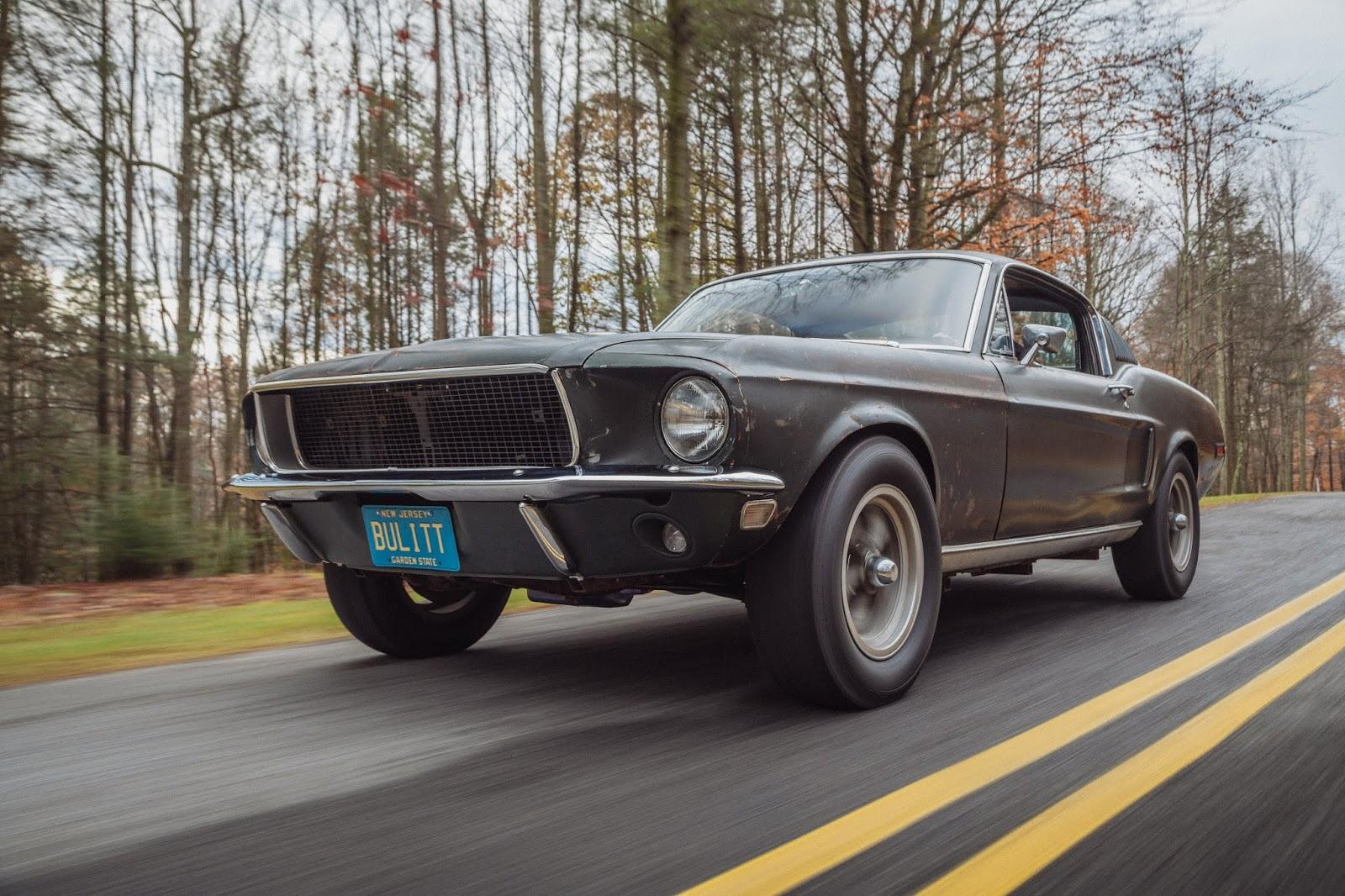 Q8 Sean driving Bullitt 3 1 Πώς γιορτάζει η Mustang τα 55 της χρόνια;