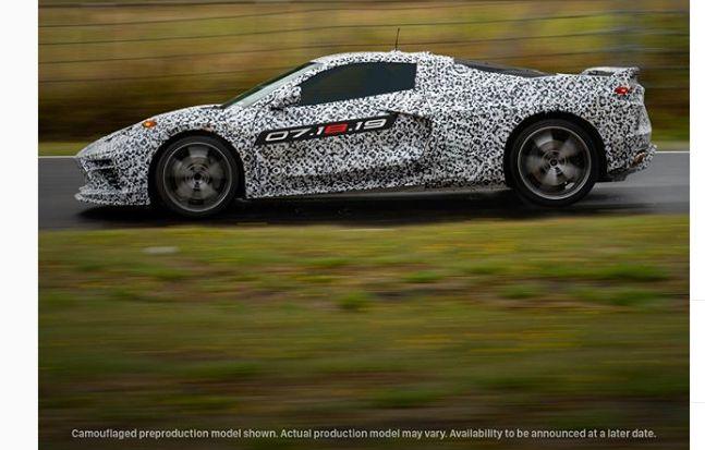 corve Ό,τι ξέρουμε ως σήμερα για τη νέα Corvette