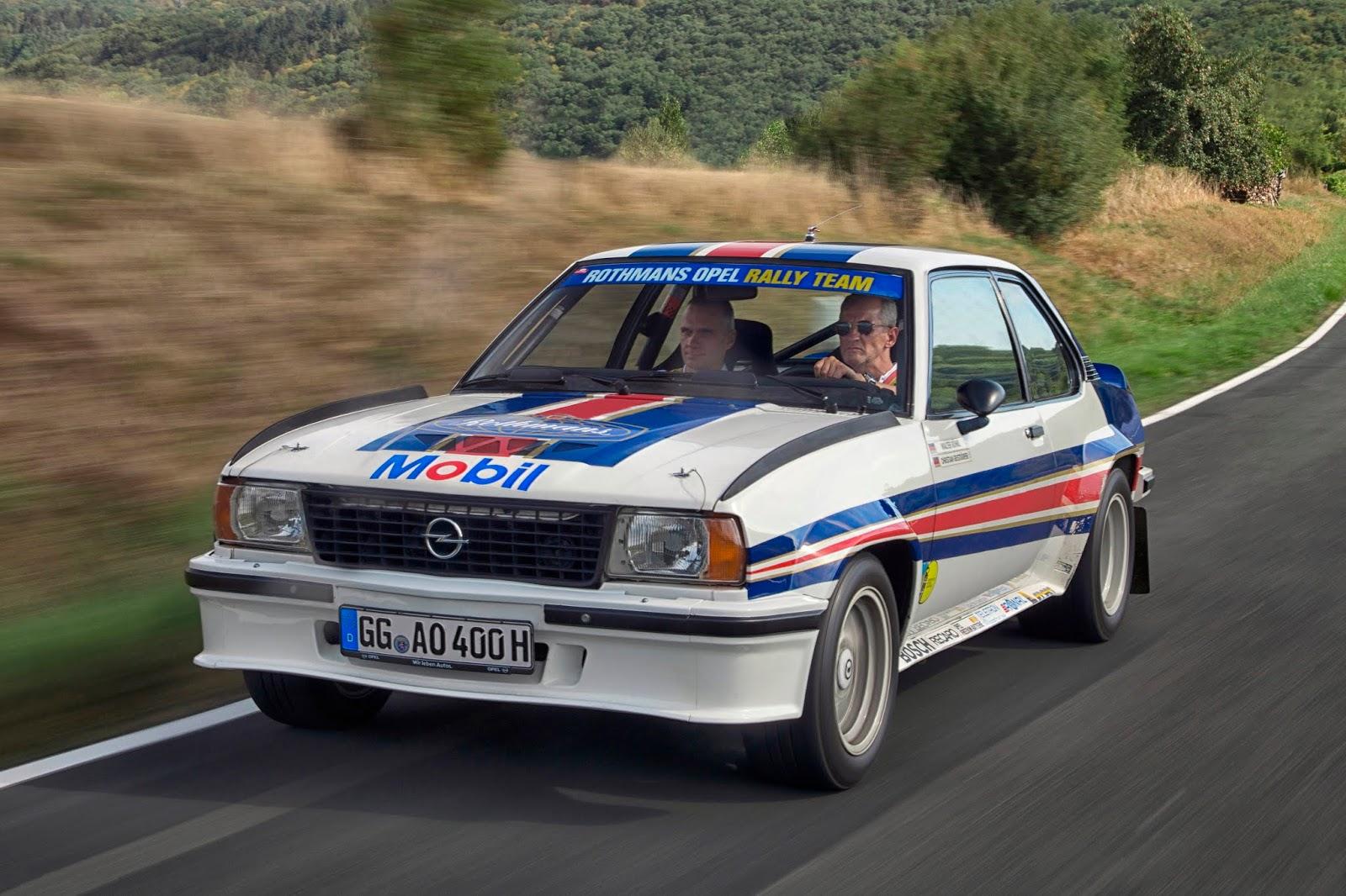 Opel Ascona B 400 504779 180 ιστορικά αυτοκίνητα της Opel στη γραμμή εκκίνησης
