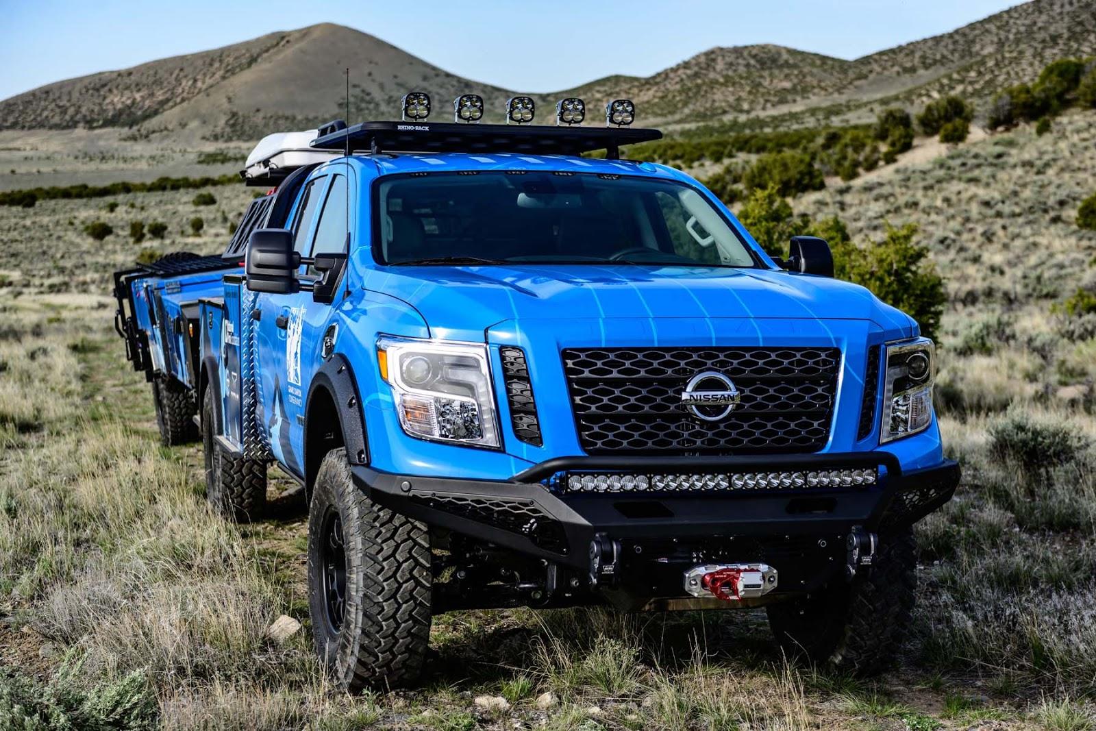 Ultimate Parks TITAN 13 1 Η Nissan δωρίζει τον Τιτάνα της στο Grand Canyon Nissan, Nissan Titan, Nissan TITAN Warrior Concept, Offroad
