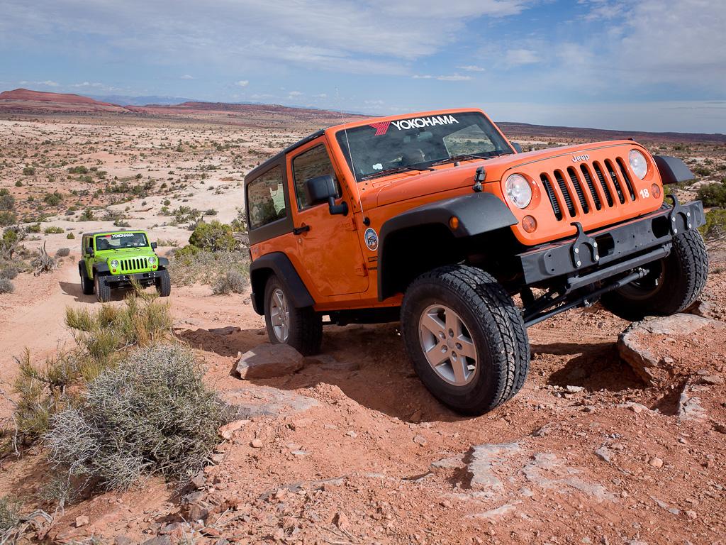 YOKOHAMA CANYONLANDS 1 Η Canyonlands Jeep Adventures επιλέγει ελαστικά Yokohama Jeep, YOKOHAMA