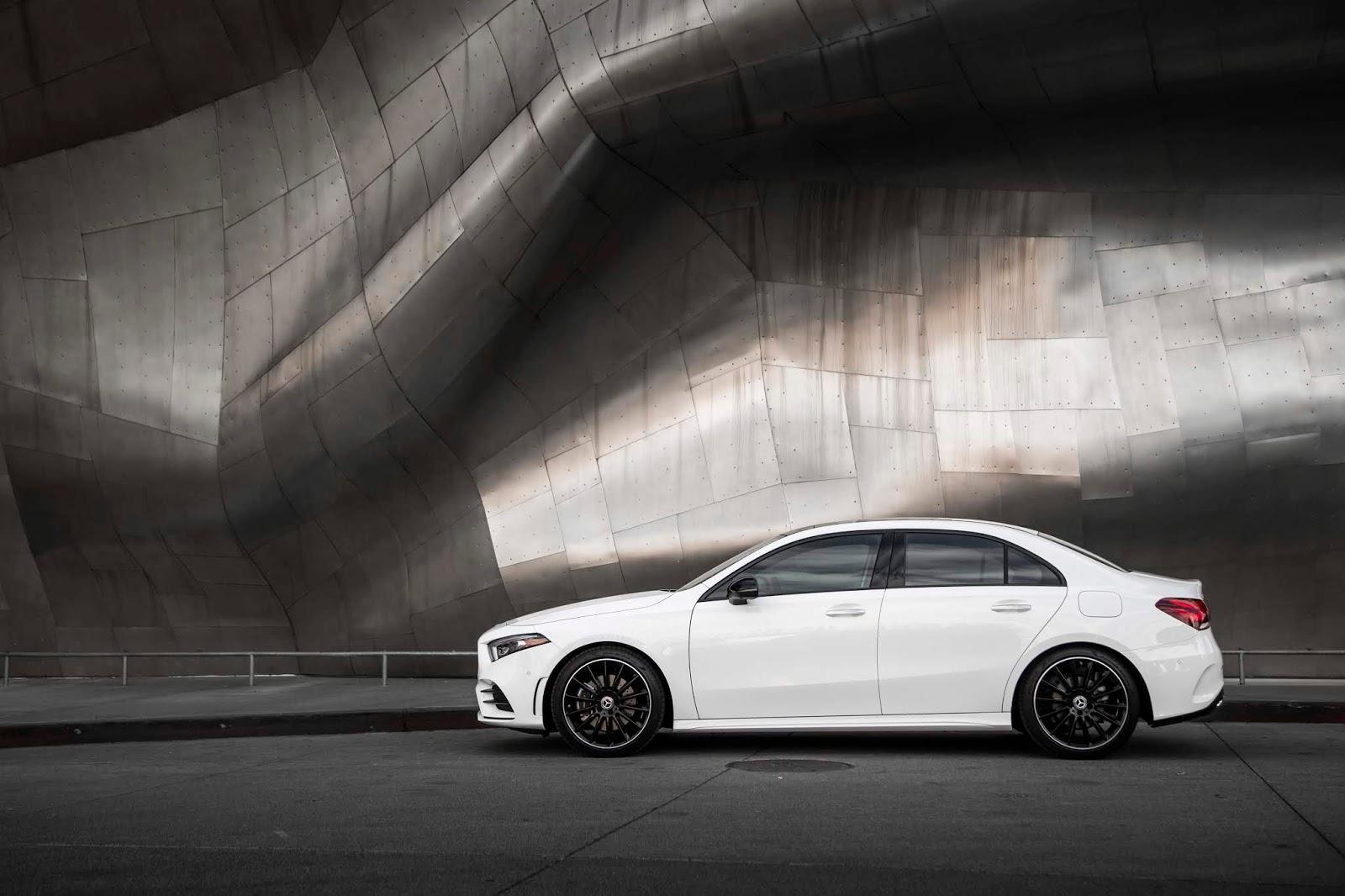 18C0775 020 Από 28.230 ευρώ η τιμή της Mercedes A-Class Sedan Luxury sedan, Mercedes, Mercedes AMG, premium sedan, sedan, zblog, καινούργιο, καινούρια, τιμες