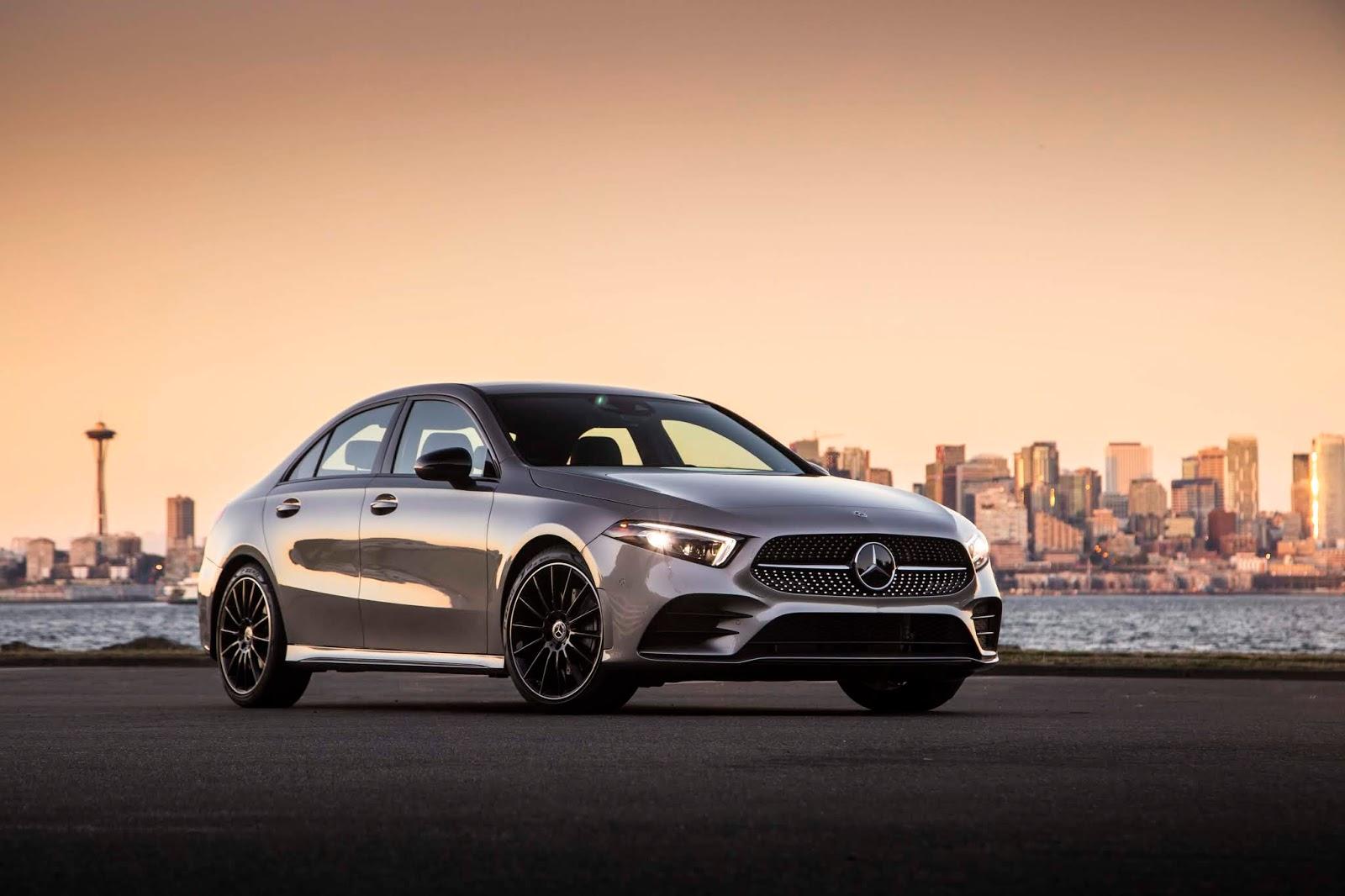 18C0777 002 Από 28.230 ευρώ η τιμή της Mercedes A-Class Sedan Luxury sedan, Mercedes, Mercedes AMG, premium sedan, sedan, zblog, καινούργιο, καινούρια, τιμες