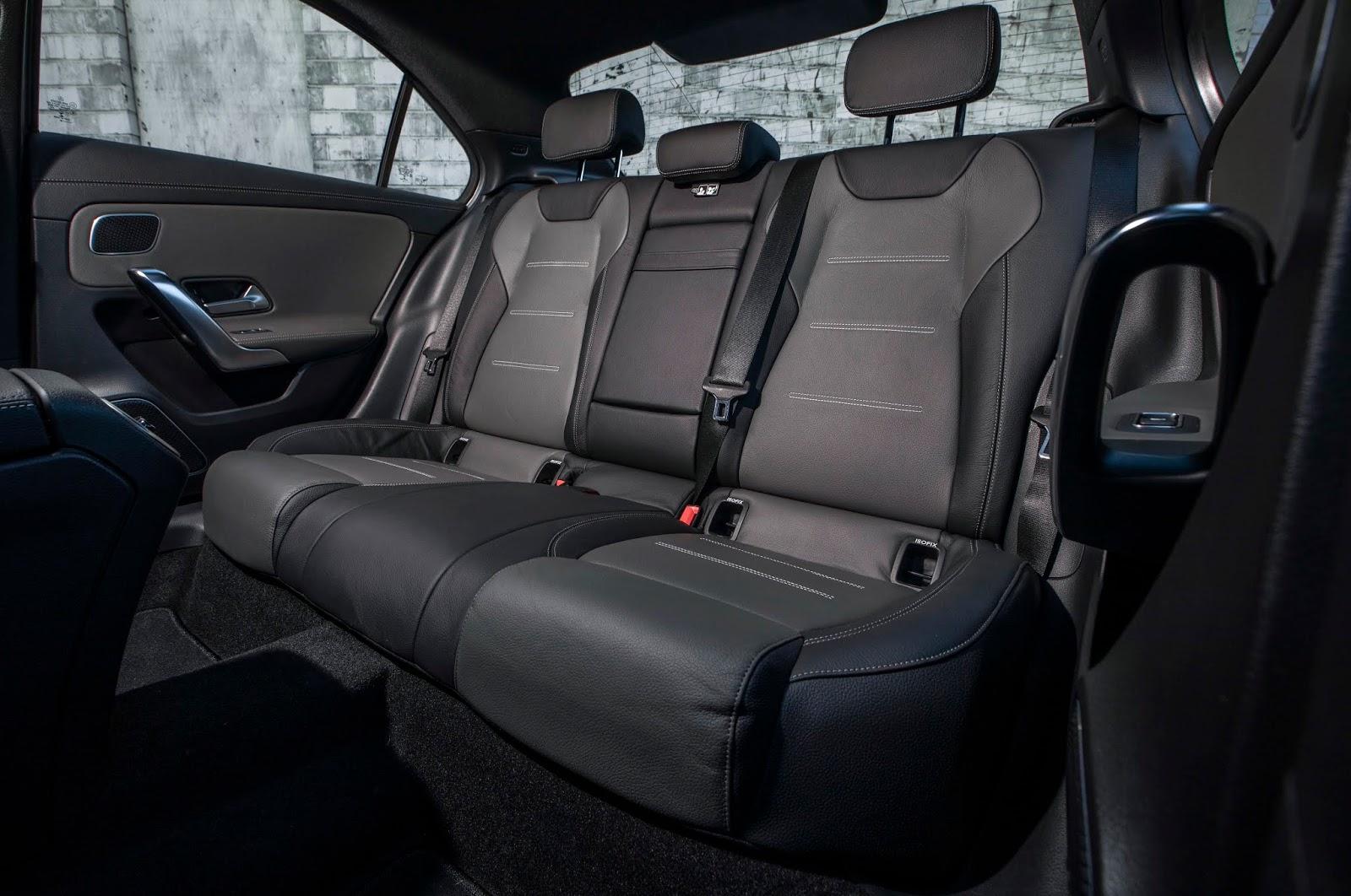 18C0777 024 Από 28.230 ευρώ η τιμή της Mercedes A-Class Sedan Luxury sedan, Mercedes, Mercedes AMG, premium sedan, sedan, zblog, καινούργιο, καινούρια, τιμες