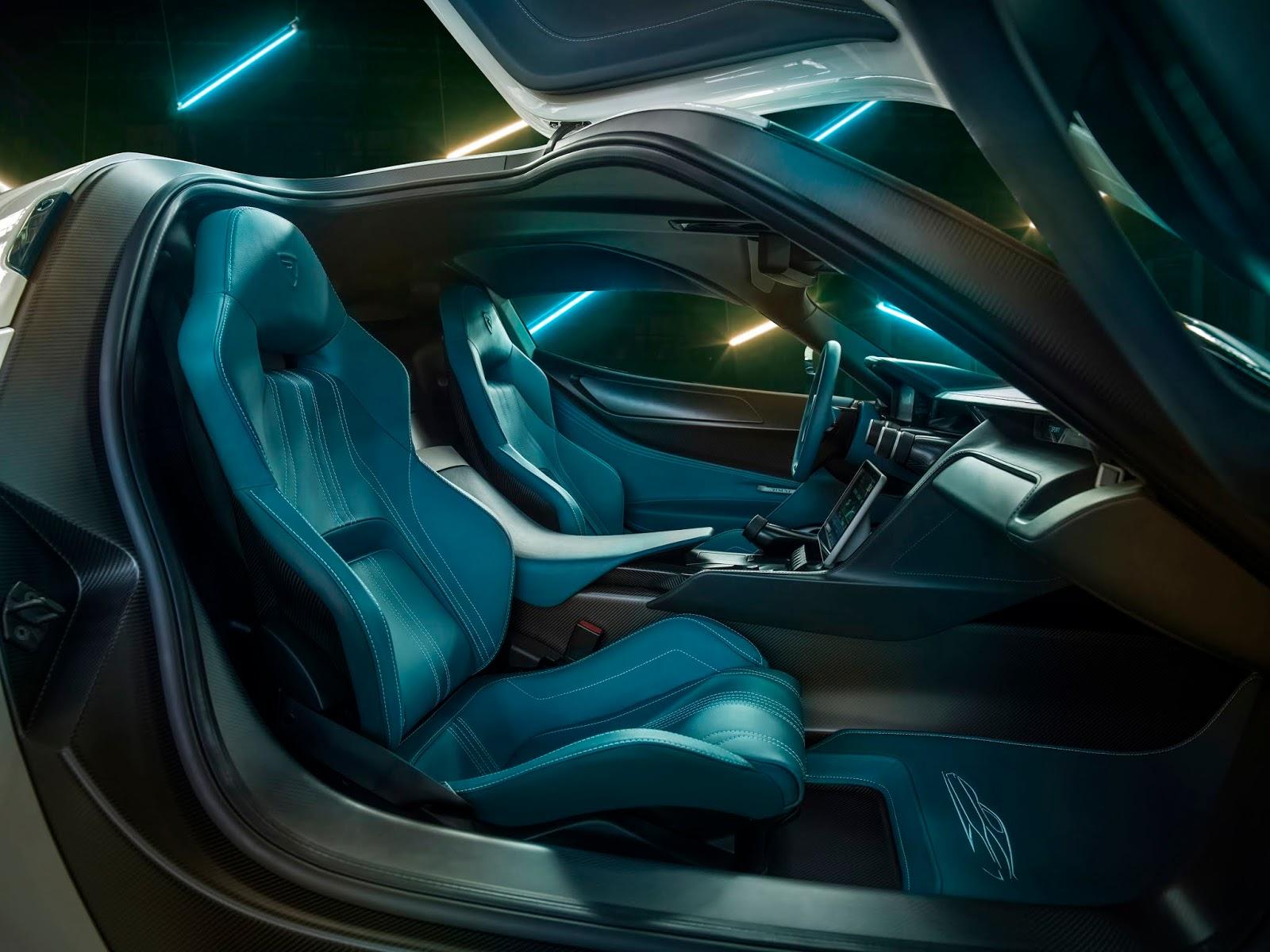 C TWO Interior PassengerSide Rimac C Two. Η νέα φυλή στα hypercars, έρχεται με 1900 ίππους. C Two, Electric cars, hypercar, Rimac, zblog