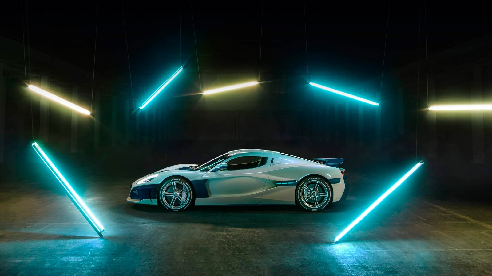 C TWO Side Rimac C Two. Η νέα φυλή στα hypercars, έρχεται με 1900 ίππους. C Two, Electric cars, hypercar, Rimac, zblog