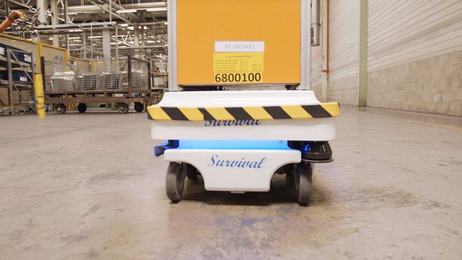 Ford SelfDrivingRobot 3 Η Ford έφτιαξε ένα ρομπότ για τις χαμαλοδουλειές του εργοστασίου της! Ford, video, videos, Εργοστάσιο, Τεχνολογία