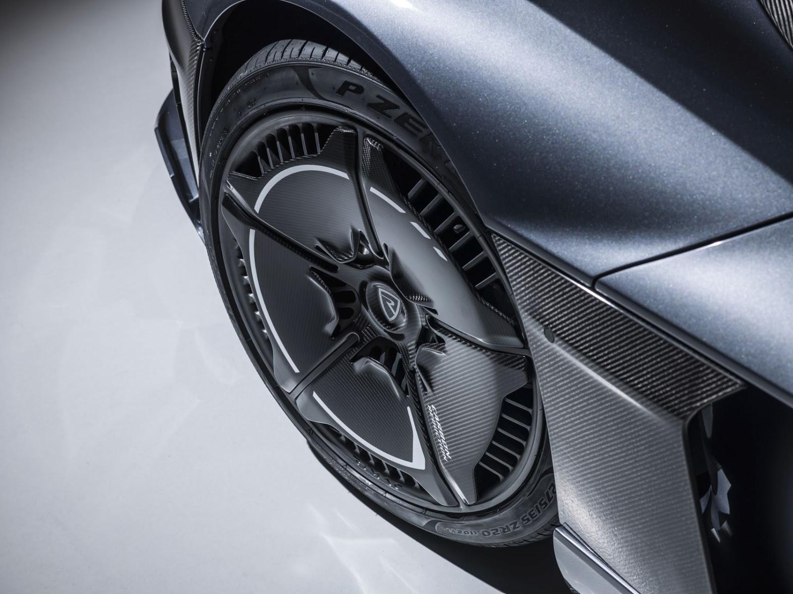 c two aero wheel Rimac C Two. Η νέα φυλή στα hypercars, έρχεται με 1900 ίππους. C Two, Electric cars, hypercar, Rimac, zblog