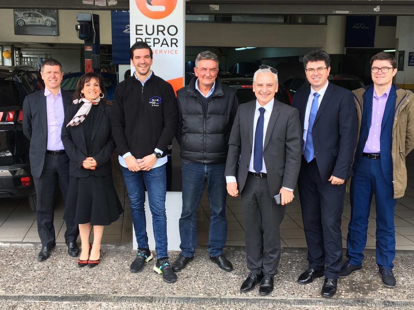 Eurorepar Μεγαλώνει το δίκτυο της Eurorepar στην Ελλάδα
