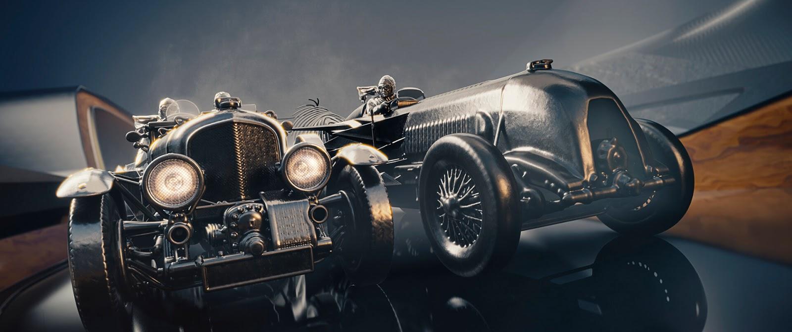 bentley1 11 σταθμοί στην 100χρονη πορεία της Bentley