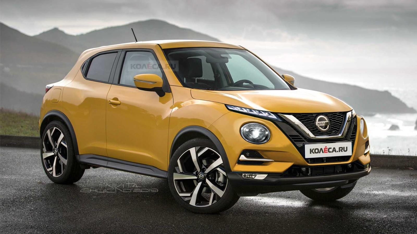 2020 nissan juke rendering Αύριο η πρεμιέρα του νέου Nissan Juke- Πώς θα είναι