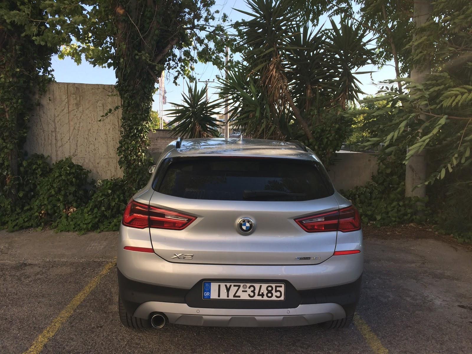 IMG 1765 Οδηγούμε τη BMW X2 sDrive 18i BMW, BMW X2, TEST, ΔΟΚΙΜΕΣ
