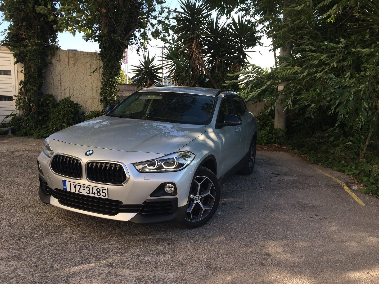 IMG 1775 Οδηγούμε τη BMW X2 sDrive 18i BMW, BMW X2, TEST, ΔΟΚΙΜΕΣ